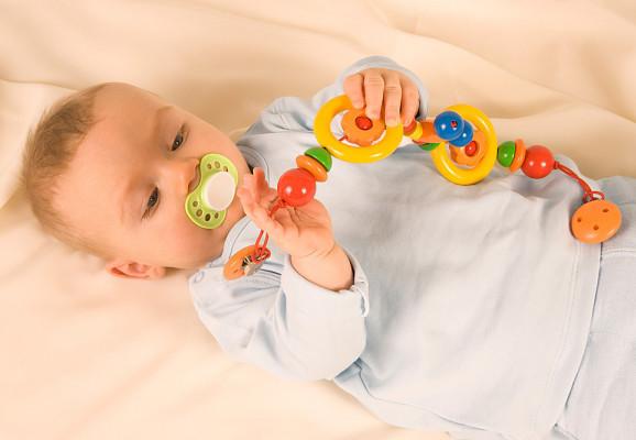 ребенку четыре месяца