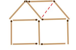 головоломки со спичками