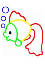 Раскраски для малышей (с подсказками)