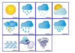 Развивающая игра для детей — Прогноз погоды